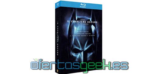 oferta batman el caballero oscuro trilogía blu ray