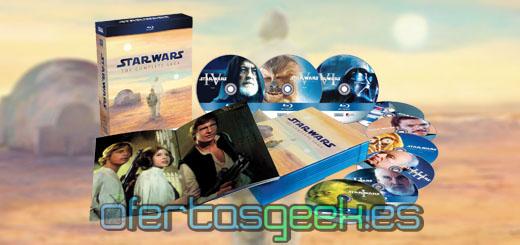 oferta blu ray star wars la saga completa barata mejor precio