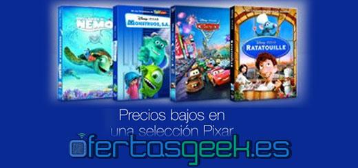oferta peliculas pixar