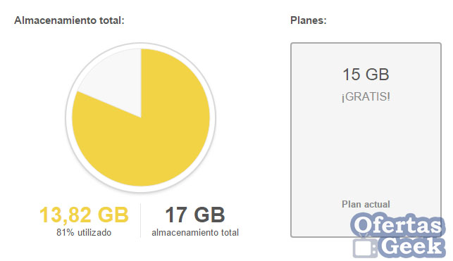 2 gb gratis para google drive