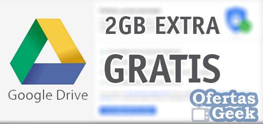 google drive 2 GB extra almacenamiento gratis