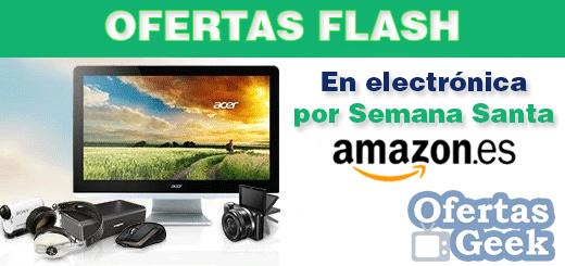 ofertas semana santa electronica flash amazon